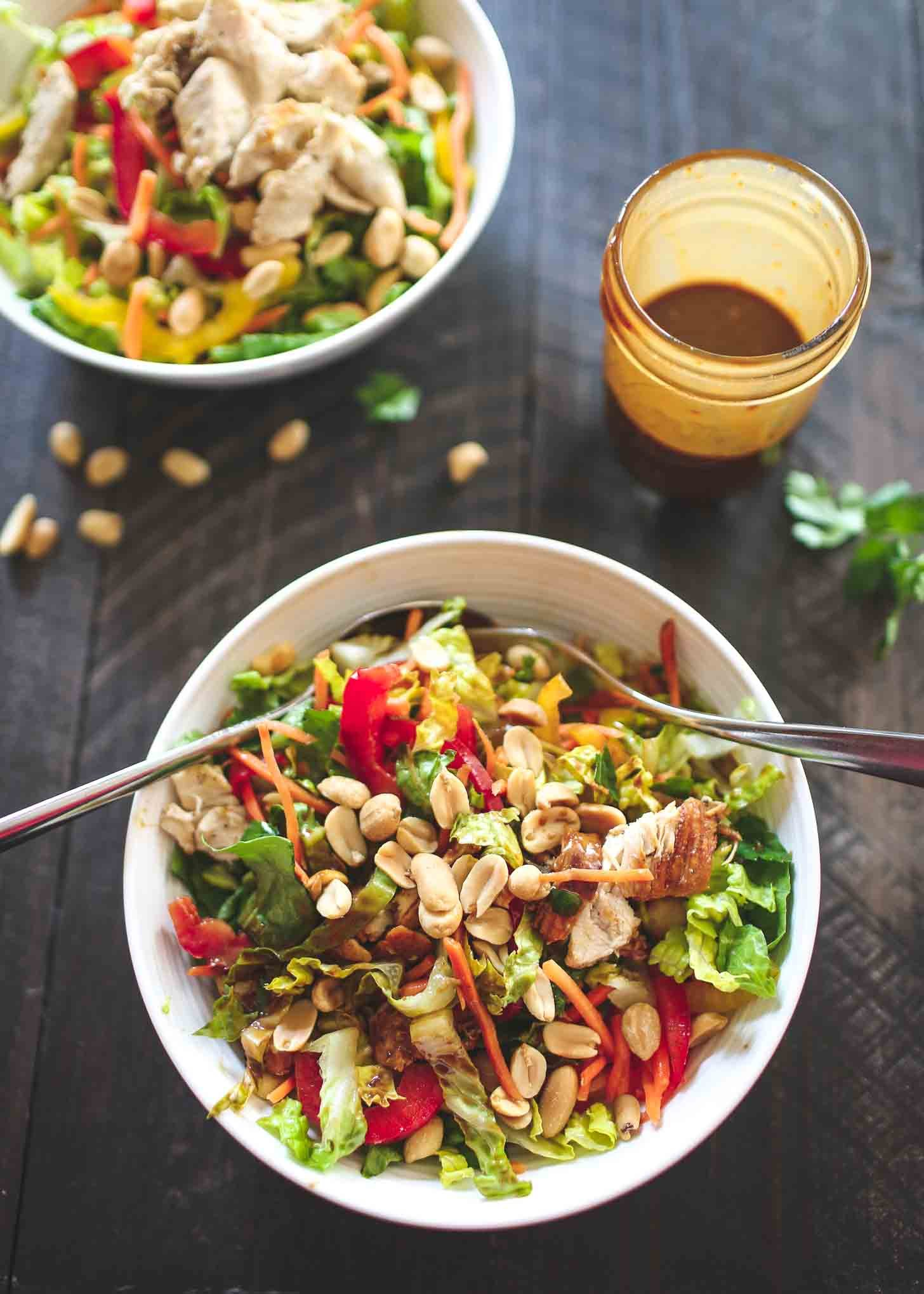 Lighter Bbq Chicken Chopped Salad