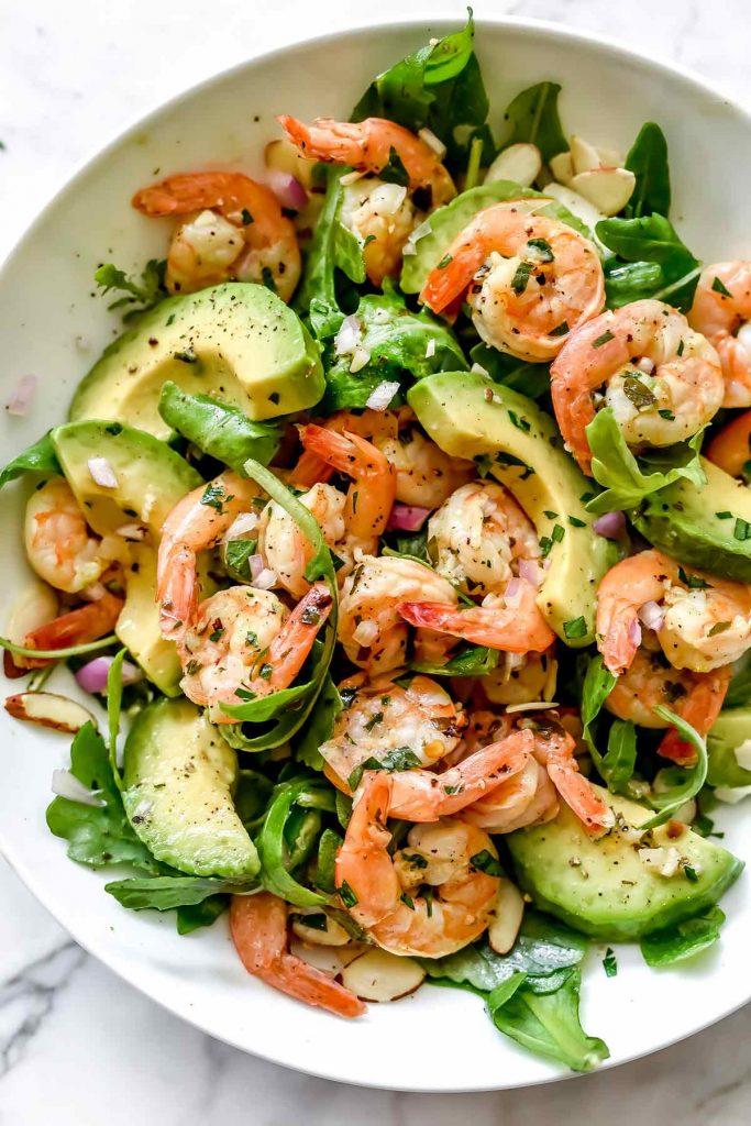 Citrus Shrimp and Avocado Salad | foodiecrush.com