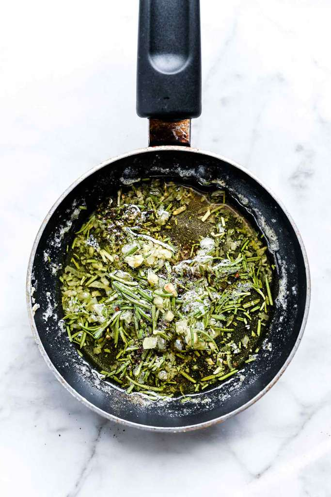 Rosemary Garlic Butter intended for smashed red potatoes