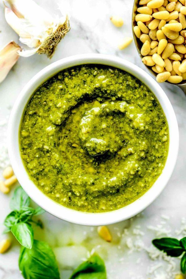 How to Make THE BEST Pesto foodiecrush.com