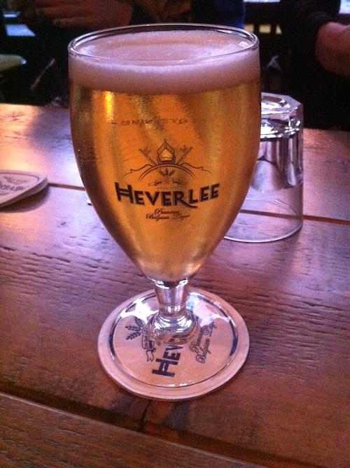 Heverlee beer World Cup glasgow