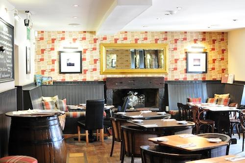 Sun Inn restaurant