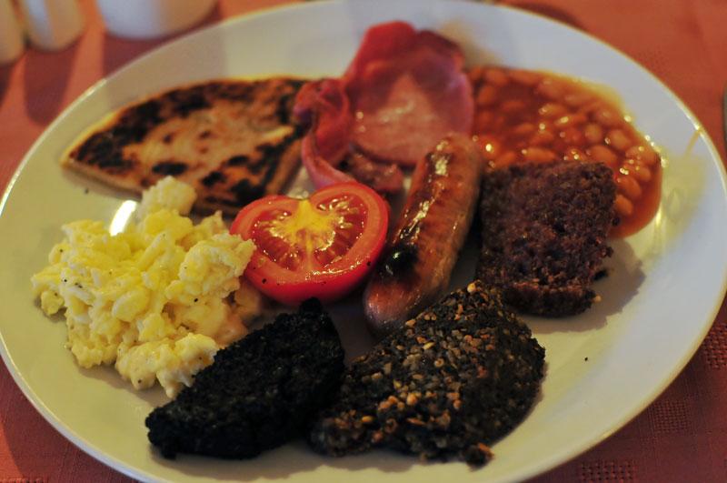 Elphinstone Hotel fried breakfast