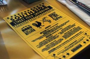 Southside Streetfood Showdown flyer
