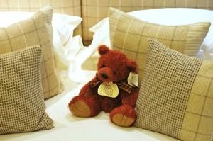 Carfraemill bedroom teddy bear