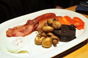 Carfraemill breakfast full scottish