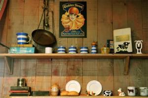 Carfraemill Jo's kitchen walls