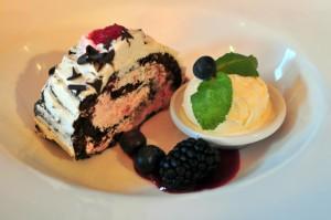 Safari_lounge_edinburgh_yule_log_dessert