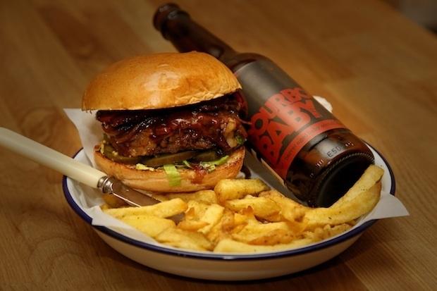 Brewdog honest burgers bourbon beer food drink Glasgow blog