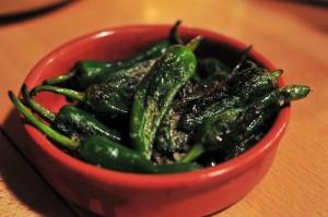 Blackfriars Bar - Padron peppers