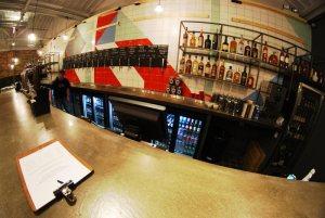 Drygate Brewery - upstairs bar