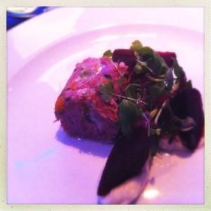 Steak tartare Alston Bar & Beef Glasgow Central railway train station gin steak beer food blog foodie bloggers