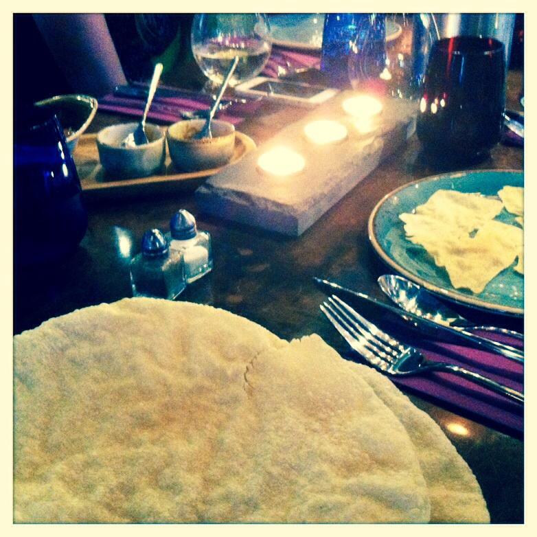 Usha's vegetarian restaurant food drink Glasgow blog