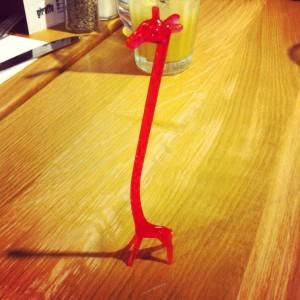 Giraffe stirrer - Giraffe restaurant review silverburn tesco Glasgow food drink blog