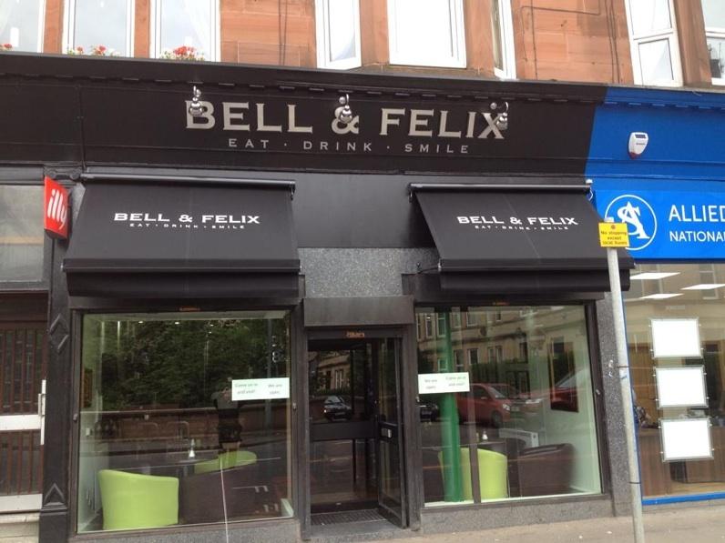 Outside Bell & felix cafe Shawlands Glasgow food drink Glasgow blog