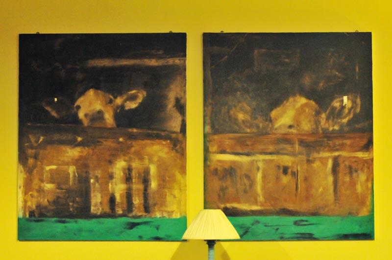 The Old School B&B - Dining room artwork