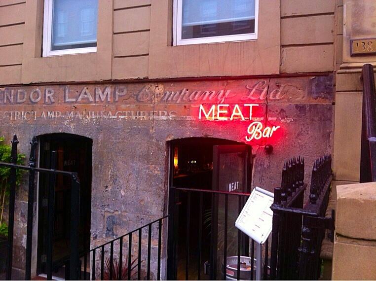 Meat bar glasgow