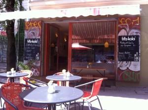 outside Cafe am Kamin, Berlin