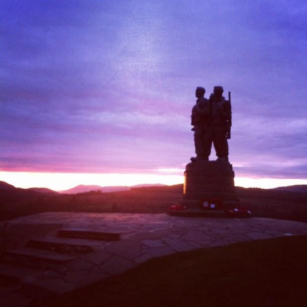 Commando monument europcar scotland