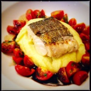 Hake and mash Loks bar and kitchen Newlands Shawlands Glasgow