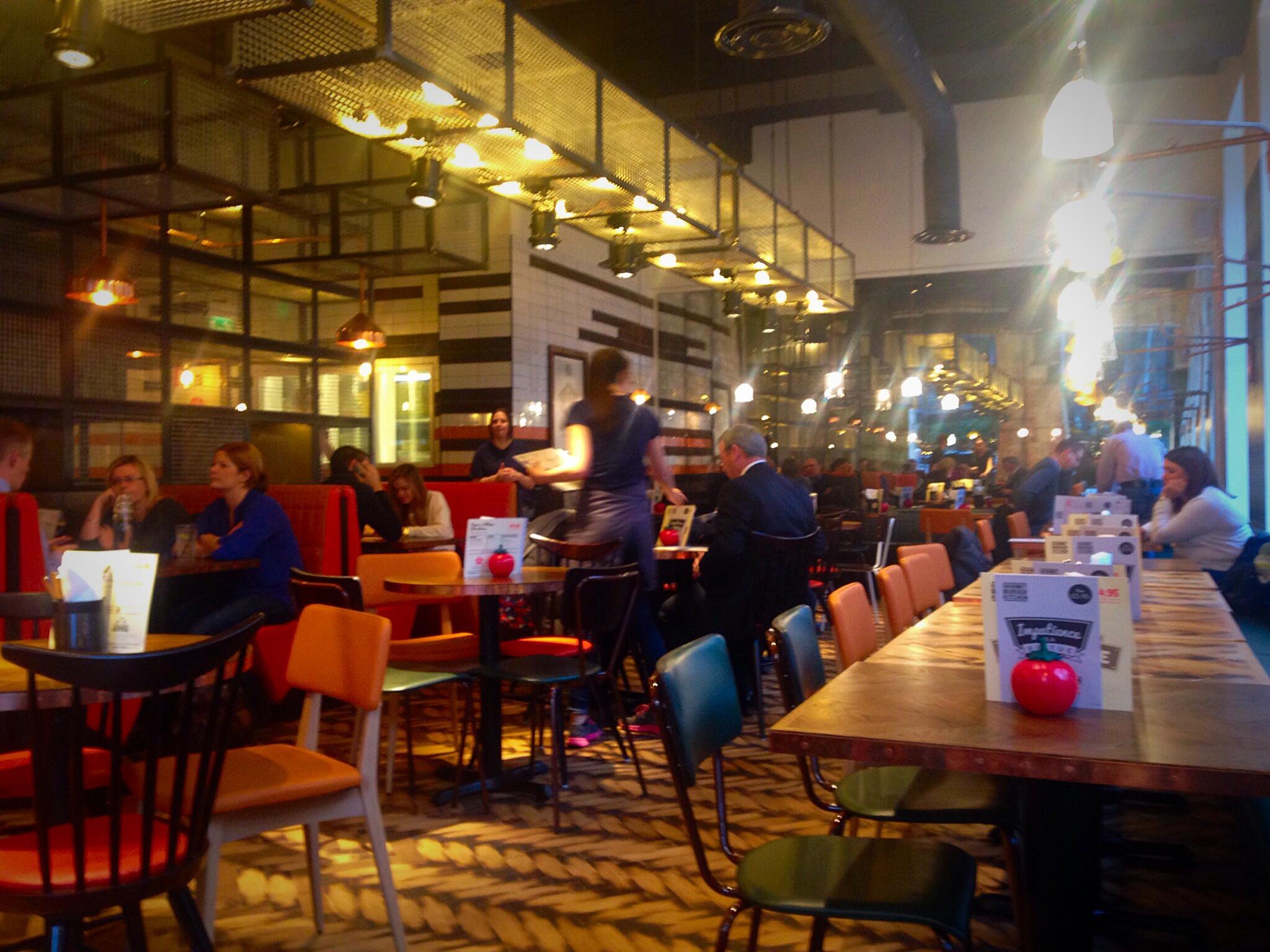 Gourmet burger kitchen Glasgow review