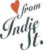 Love from indie street Edinburgh