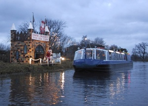 The bridge inn at Ratho Santa cruises
