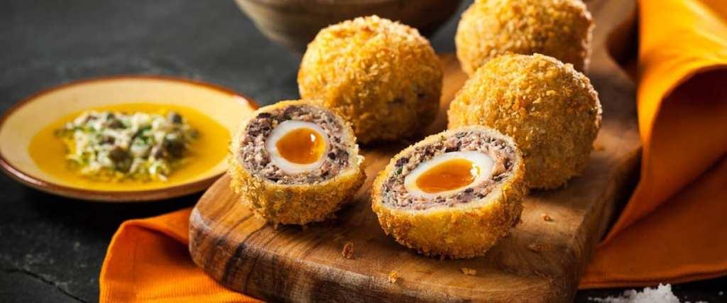 MacSween Three bird haggis scotch eggs