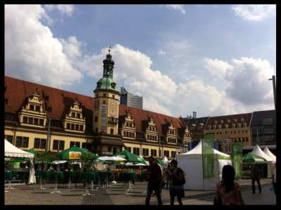 Leipzig town hall