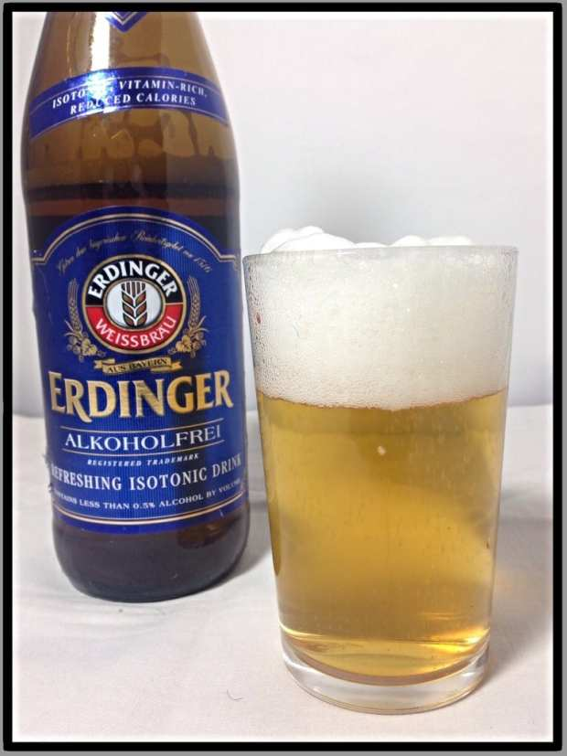 Erdinger Low alcohol beer taste test