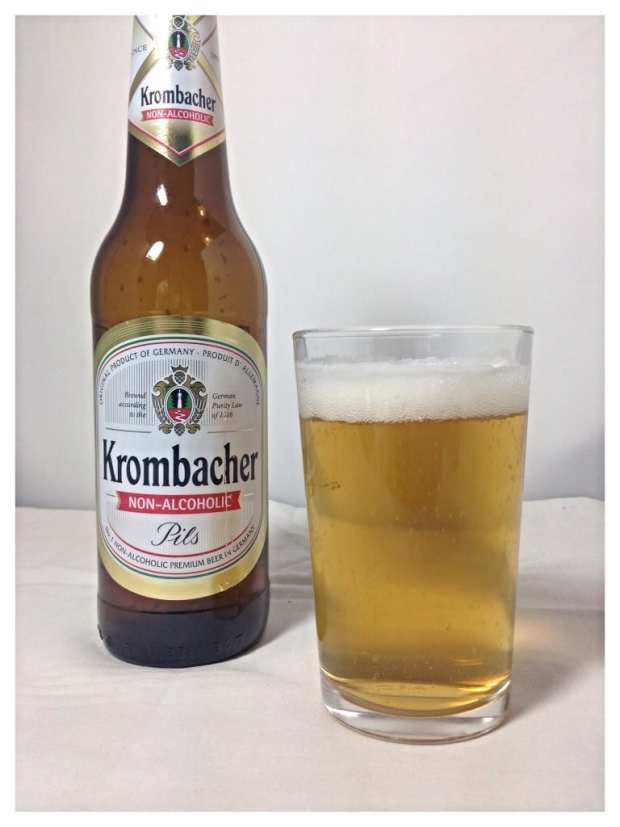 Krombacher Low alcohol beer taste test