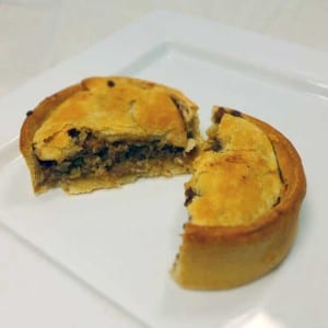 Mcintosh of dyce haggis and meat scotch pie