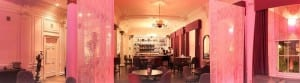 Blythswood square hotel Glasgow salon cocktail bar valentine