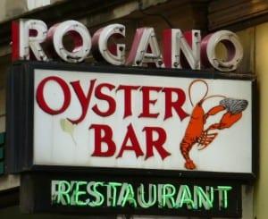 Rogano Glasgow,oyster bar fish valentine