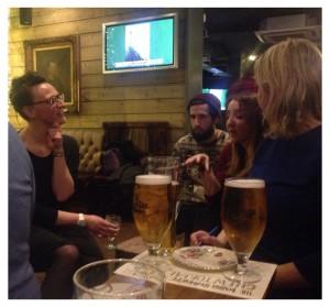 Heverlee phoebe weller roving from age cheese beer tasting