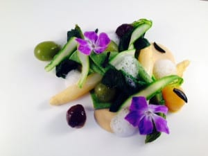 Gavin Kellet dish young chef competition