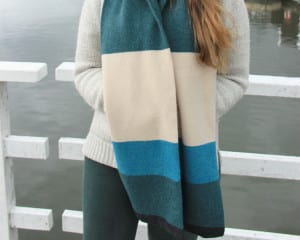 Scarf-Marine lucy donnell