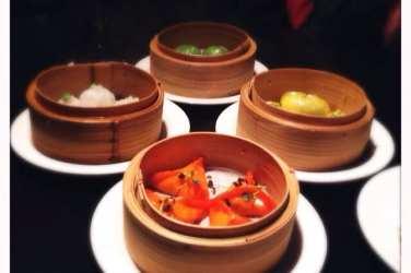 Dim sum Opium Asian fusion restaurant Glasgow