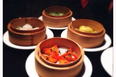 Dim sum Opium Asian fusion restaurant Glasgow