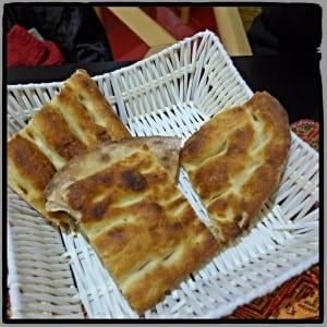Turkish bread Kervan palace Glasgow turkish