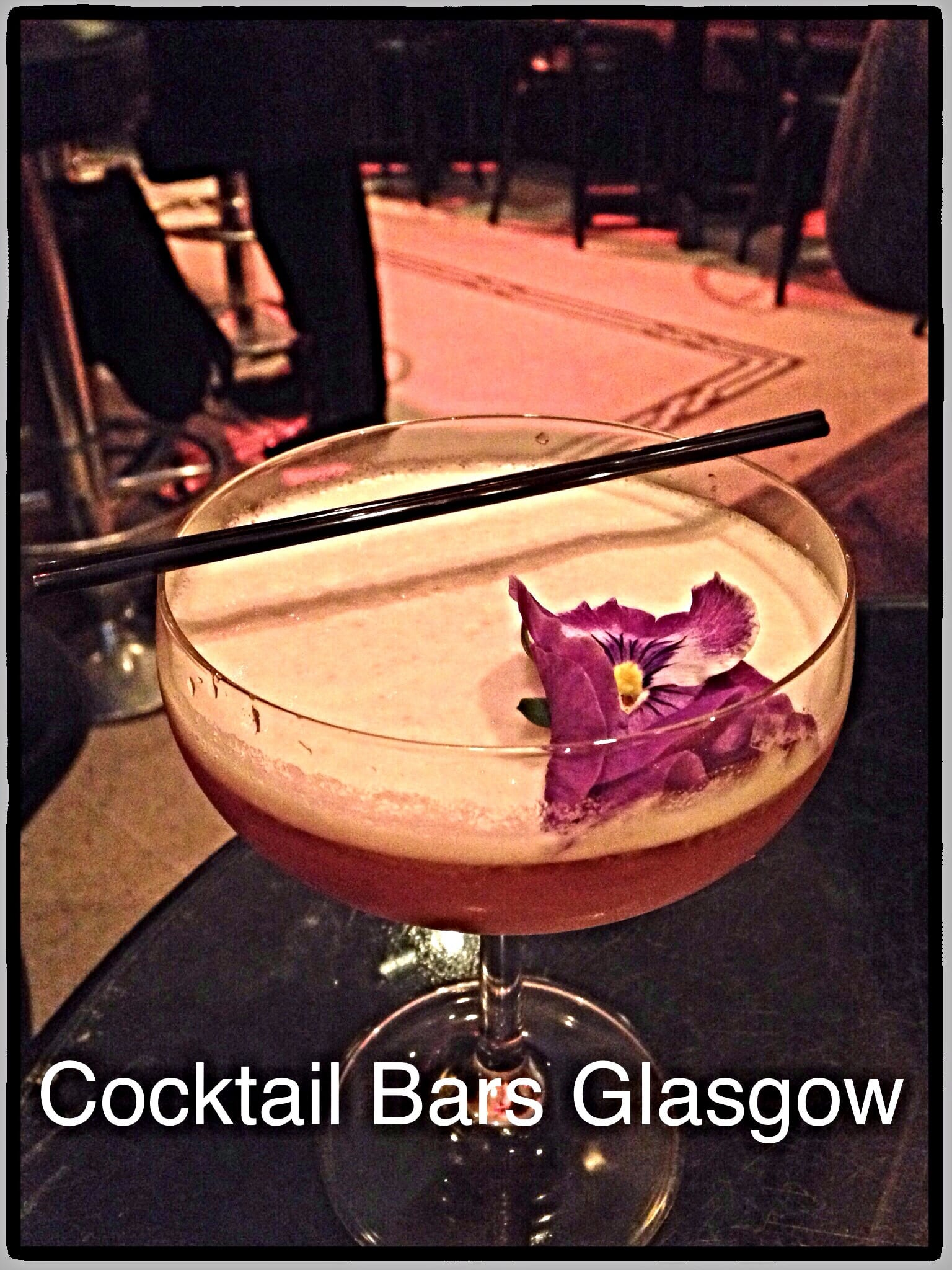 Cocktail bars Glasgow best where to go drinks