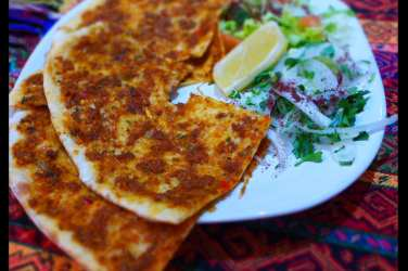 Sarbeni Lahmacun Kervan palace Glasgow turkish