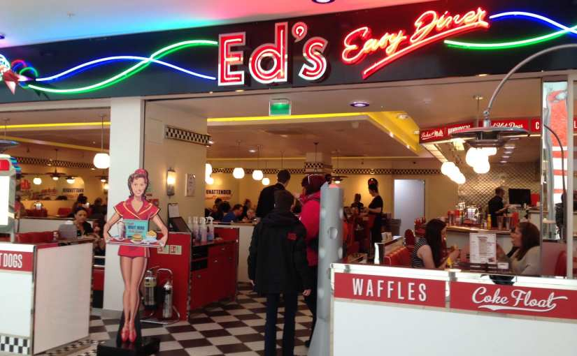 Review: Ed's Easy Diner, Food Court, St Enoch Shopping Centre, Glasgow