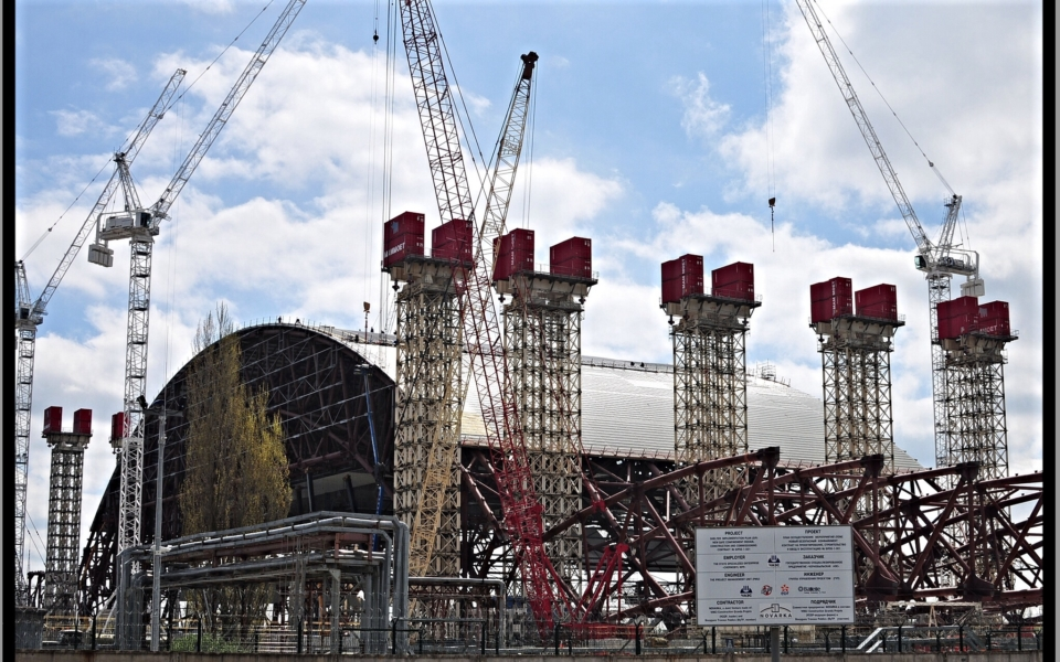 new sarcophagus, Chernobyl Power Station