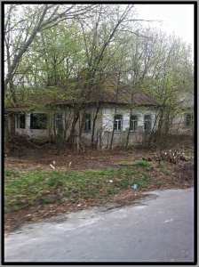 outskirts chernobyl village ukraine