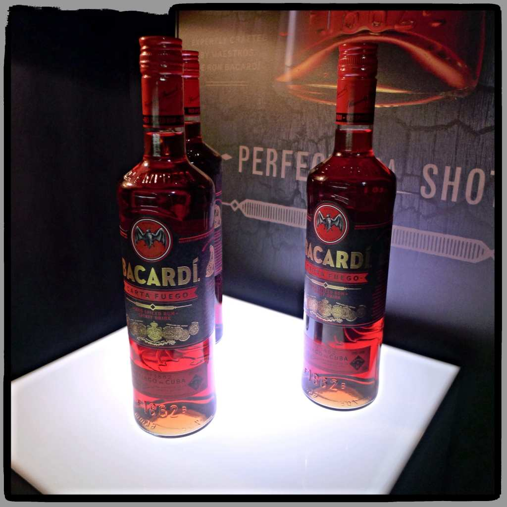 New Bottle and label design for Bacardi