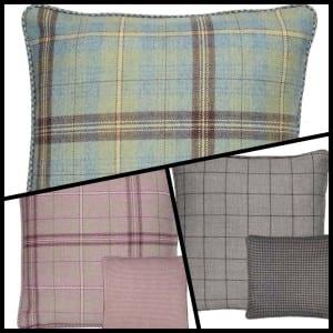 Scotland shop tartan cushions Mother's Day