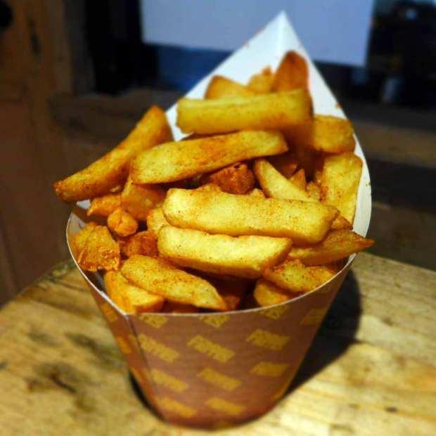 Pommes Frites - portion of fries