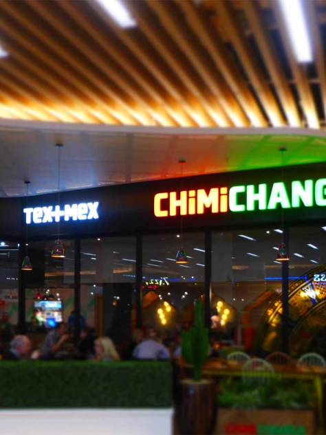 Chimmichanga - in the food court at Silverburn