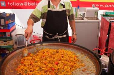 Glasgow Continental Market April 2015 - Bella Paella
